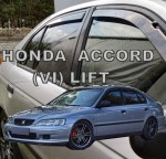 Wind deflectors HONDA Accord VI 5d 1998-2003 ltb (rear deflectors included)