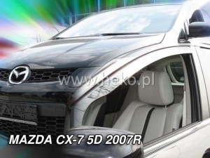 Wind deflectors MAZDA CX-7 5d 2006->