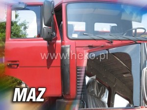 Wind deflectors MAZ (front only)