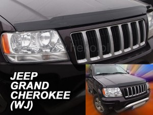 Wind deflector for front windscreen JEEP Grande Cherokee WJ 1998-2004 (mounted with clips)