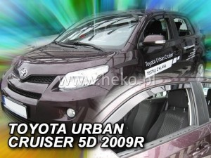 Wind deflectors TOYOTA Urban Cruiser XP 11 5d 2009-> (front only)