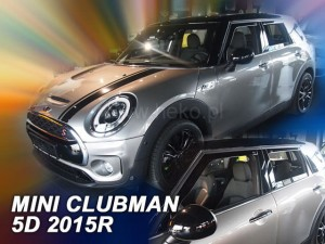 Wind deflectors MINI Clubman F54 5d 2015-> (rear deflectors included)