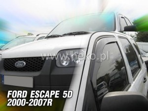 Wind deflectors FORD Escape / Maveric XLT / MAZDA Tribute 5d 2000-2007