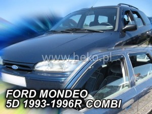 Wind deflectors FORD Mondeo MK1 5d 1993-1996 wagon (rear deflectors included)