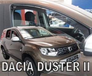 Wind deflectors DACIA Duster II 5d 2018-> (front only)