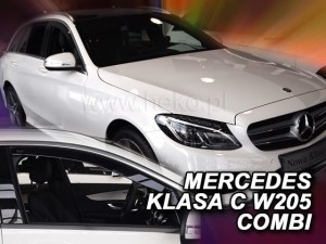 Wind deflectors MERCEDES C W205 4/5d 2014->