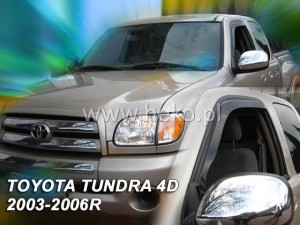 Wind deflectors TOYOTA Tundra 4d 2003-2006 Step Sid (front only)