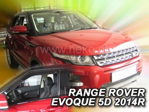 Wind deflectors LAND ROVER Range Rover EVOQUE 5d 2011-> (front only)