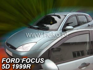Wind deflectors FORD Focus MK1 4/5d 1998-2005