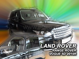 Wind deflectors LAND ROVER Voque IV 5d 2012-> (rear deflectors included)
