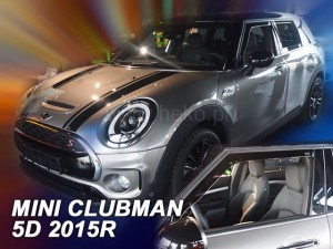 Wind deflectors MINI Clubman F54 5d 2015-> (front only)
