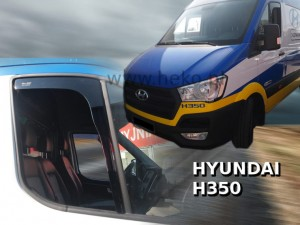 Wind deflectors HYUNDAI H350 2015-> (front only)