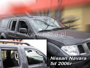 Owiewki NISSAN Navara Pick up D40 2 / 4d 2005-2014 King / Double Cab