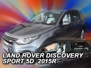 Wind deflectors LAND ROVER Discovery Sport 5d 2014-> (rear deflectors included)