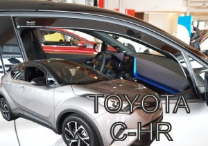 Wind deflectors TOYOTA C-HR 5d 2016-> (front only)