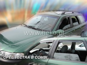 Wind deflectors OPEL Vectra B 5d 1996-2002 wagon (rear deflectors included)
