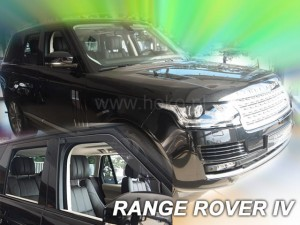 Wind deflectors LAND ROVER Discovery IV 5d 2009-> (rear deflectors included)
