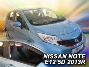 Owiewki NISSAN Note E12 5d 2013->