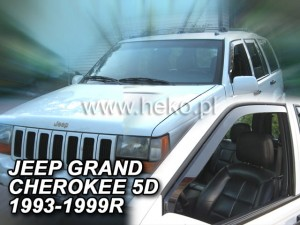 Wind deflectors JEEP Grand Cherokee ZJ 5d 1993-1999