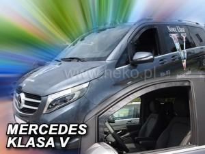 Wind deflectors MERCEDES Vito kl. V 2014-> W447 (front only)