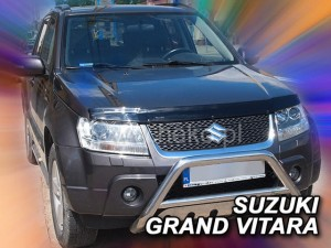 Wind deflector for front windscreen SUZUKI Grand Vitara II 3/5d 2005-2014 (mounted with clips)
