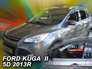 Wind deflectors FORD Kuga ll / Vignale 5d 2012-2019 (front only)