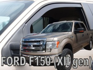 Wind deflectors   FORD F-150 (XII gen)  XLT 4d 2008-2014 (front only)