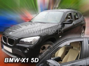 Wind deflectors BMW X1 E84 5d 2009-2016