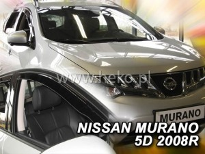Wind deflectors NISSAN Murano Z51 5d 11.2008-> (front only)