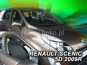 Owiewki RENAULT Scenic III 5d 2009-2016