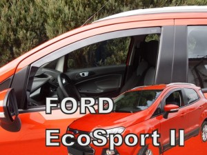 Wind deflectors FORD Ecosport II 5d 2013-> (front only)