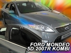 Wind deflectors FORD Mondeo MK4 5d 2007-2014 wagon (rear deflectors included)