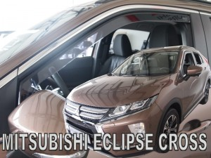 Wind deflectors MITSUBISHI Eclipse Cross 5d 2018-> (front only)