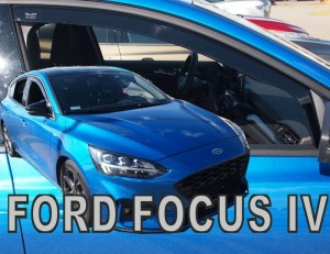 Wind deflectors FORD Focus MK4 5d 2018-> htb wagon (front only)