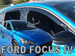 Wind deflectors FORD Focus MK4 5d 2018-> htb (rear deflectors included)
