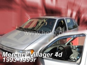 Wind deflectors NISSAN Quest 4d / Mercury Villager 4d