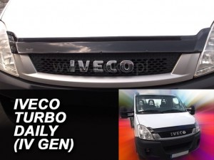 Wind deflector for front windscreen IVECO Turbo Daily IV / V 2006-2014 (mounted with clips)