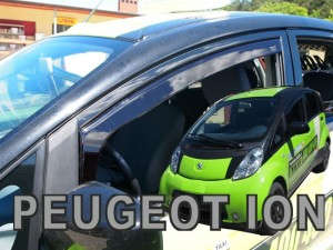 Wind deflectors PEUGEOT Ion 5d 2010->