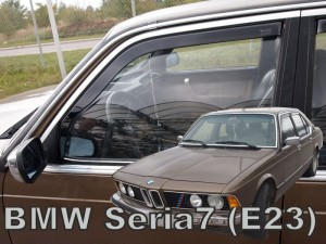 Wind deflectors BMW 7 E23  4d 1976-1986