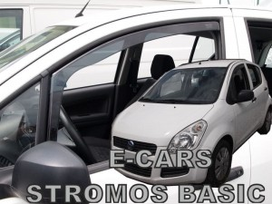 Wind deflectors E-CARS Stromos Basic 5d 2008->