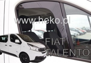 Wind deflectors FIAT Talento 2016-> (front only)