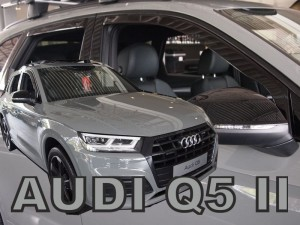Wind deflectors AUDI Q5 II 5d 2016-> (rear deflectors included)