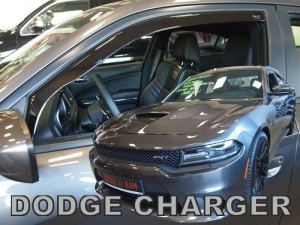 Wind deflectors DODGE Charger 5d 2011-> (front only)