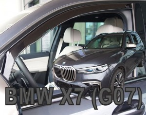 Wind deflectors BMW X7 G07 5d 2018-> (front only)