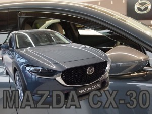 Wind deflectors MAZDA CX-30 5d 2019-> (front only)