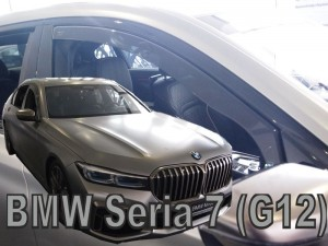 Wind deflectors BMW 7 G12 4d 2015->  (front only)