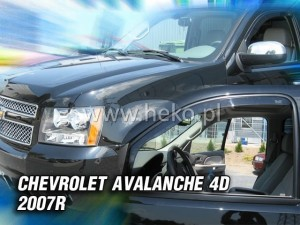 Wind deflectors CHEVROLET Avalanche 4d 2007->