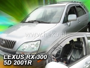Wind deflectors LEXUS RX 300 5d 1998-2003 (USA) (front only)