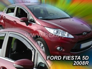 Wind deflectors FORD Fiesta MK6 5d 2008-2017
