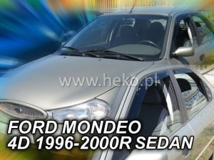 Wind deflectors FORD Mondeo MK2 5d 1996-2000 sedan htb (rear deflectors included)
